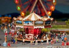 Childrens Merry Go Round Fairground Kit with Motor IV